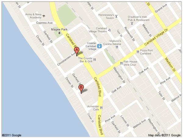 Meeting Location CarlsbadOceanside Toastmasters Club 47